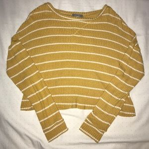 I'm selling a NOWT Charlotte Russe yellow crop top